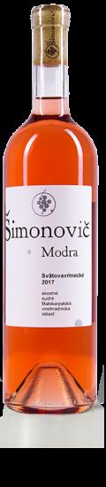 Simonovic vino Svatovavrinecke 2017 b