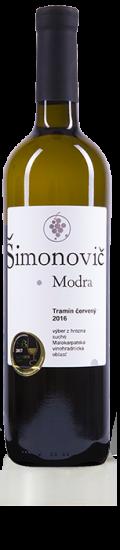 Simonovic vino Tramin cerveny 2016 b