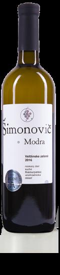Simonovic vino Veltlinske zelene 2016 b