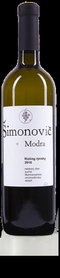 Simonovic vino Rizling rynsky 2016 b